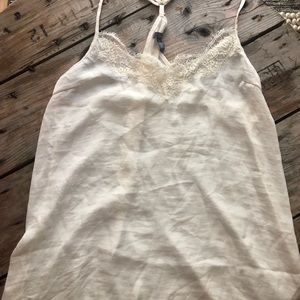 Cute Silk lace top!